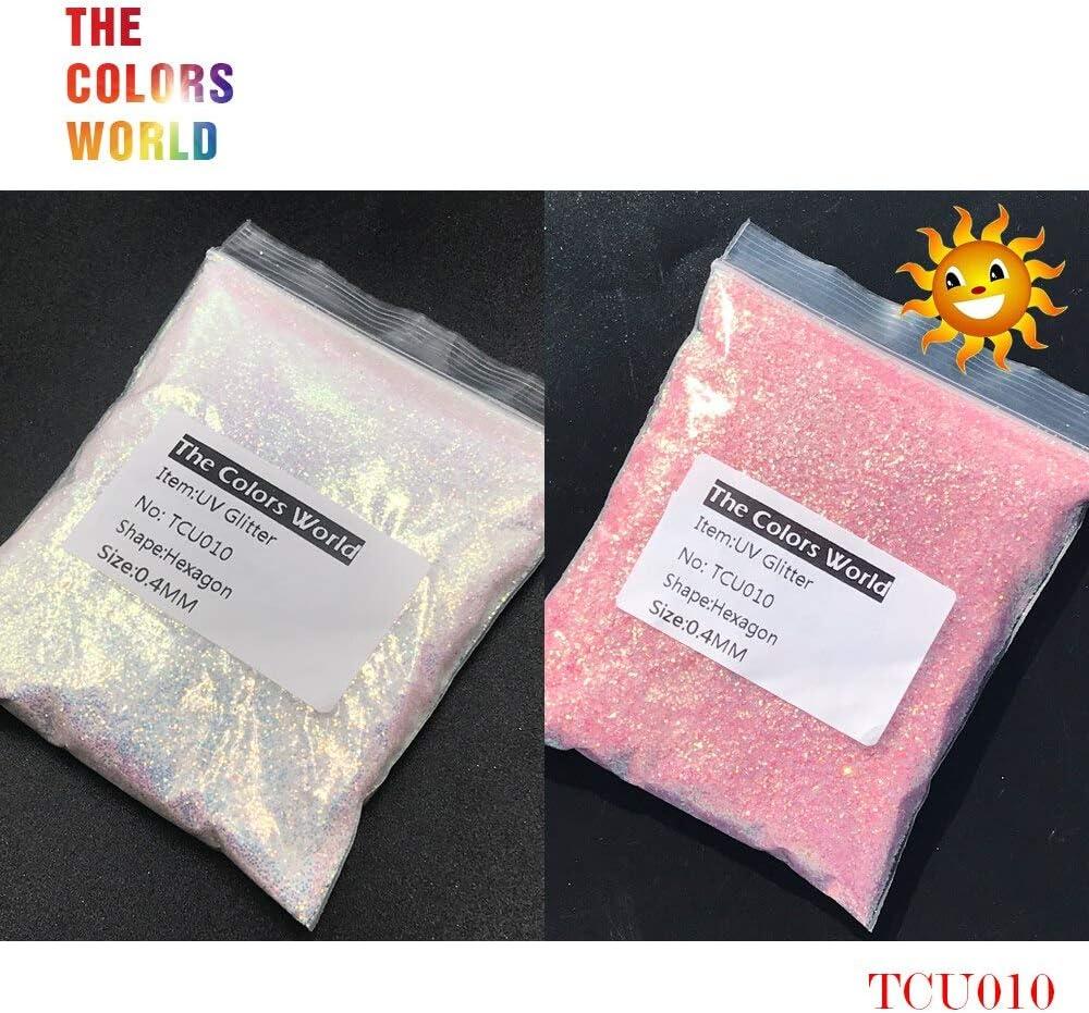 Gabcus TCT-202 UV Glitter Ultraviolet Light Hexagon Shape overseas 0.4MM Our shop OFFers the best service