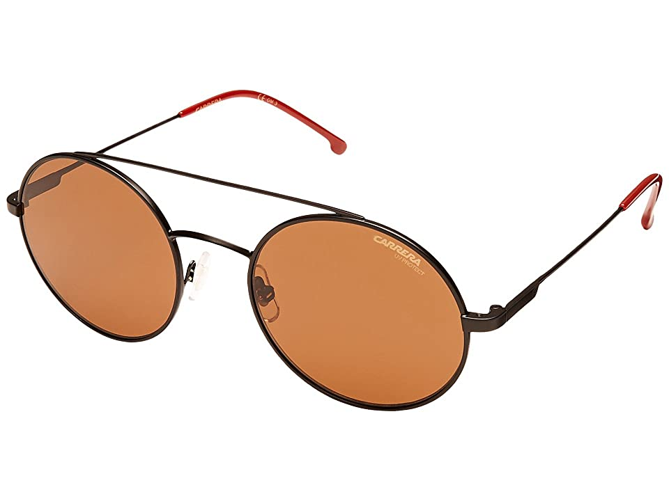 Carrera Carrera 2004T/S (Matte Black/Brown) Fashion Sunglasses