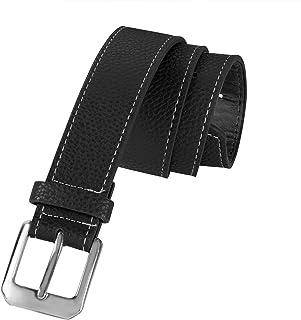 Boys' Leather Dress Belt for All Size Kids