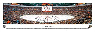 Anaheim Ducks - Center Ice at Honda Center - Panoramic Print