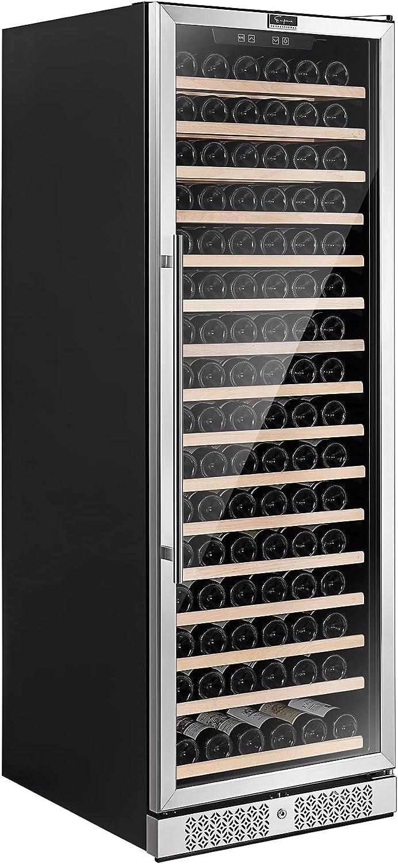 Empava Cooler Refrigerator 171 Bottles Single or Seasonal Wrap Detroit Mall Introduction F Zone Built in
