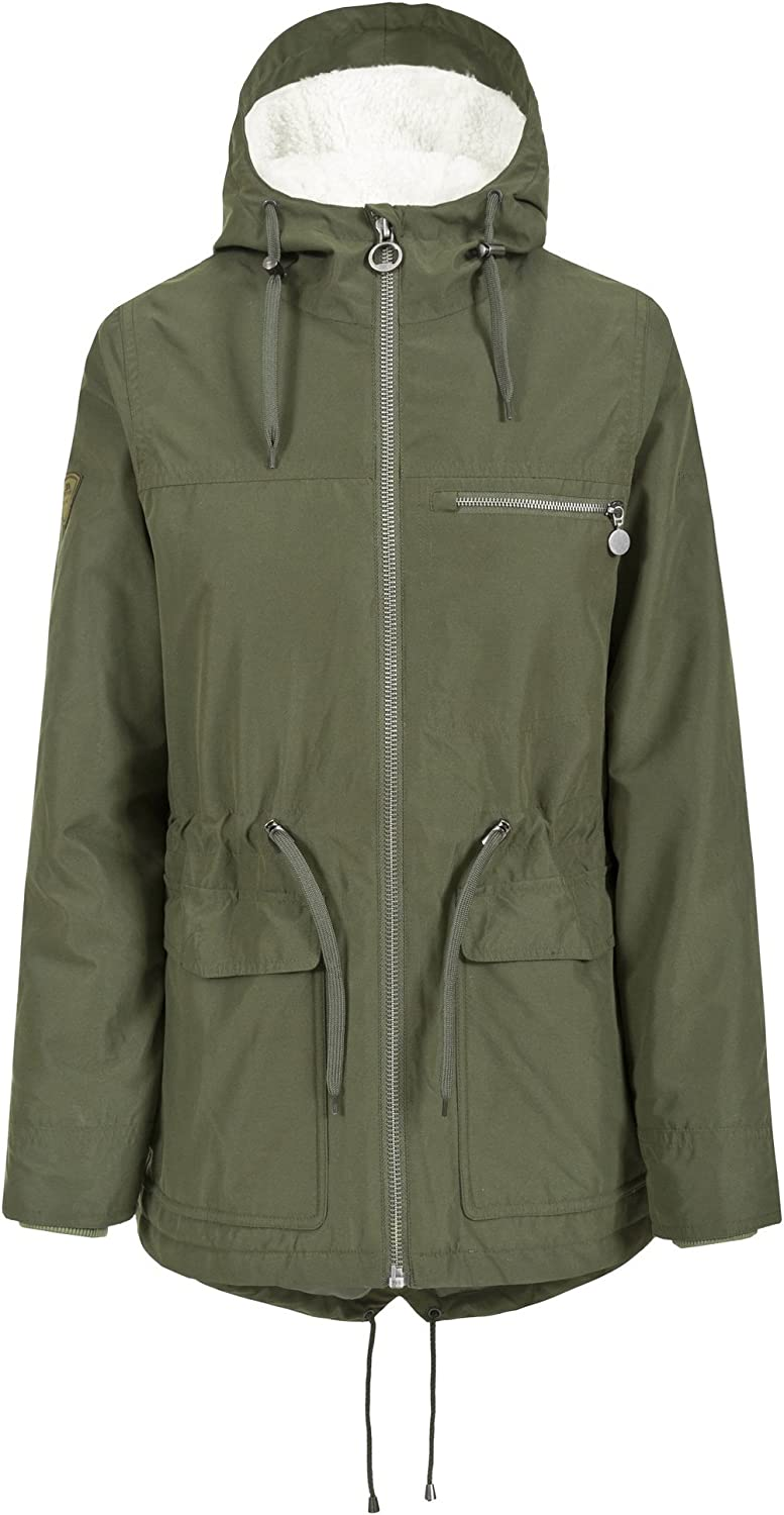 Trespass Womens Ladies Forever Wateproof Parka Jacket