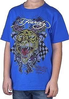 Big Boys' Open Mouth Tiger T-Shirt