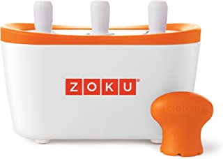 Zoku Quick Pop Maker, Make Popsicles in as Little as 7 Minutes on your Countertop, White