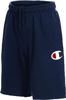 Champion Men's Graphic Powerblend Fleece Short