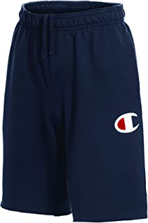 Champion Men's Graphic Powerblend Fleece Short
