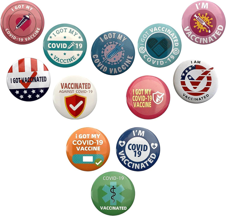 Super beauty product restock quality top 12Pcs Button Pins 2.25