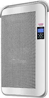 DIOE Calentador de Pared para baño, Calentador de Doble Uso Vertical Ultra silencioso eléctrico/montado en la Pared, con Pantalla LED, Gris
