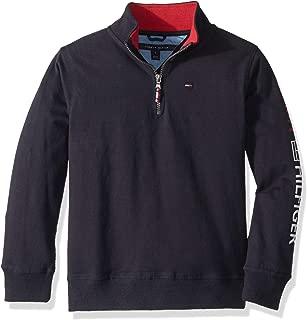 Boys' Long Sleeve Half Zip Pullover Sweater
