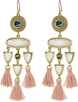 Lucky Brand - Fringe Statement Earrings
