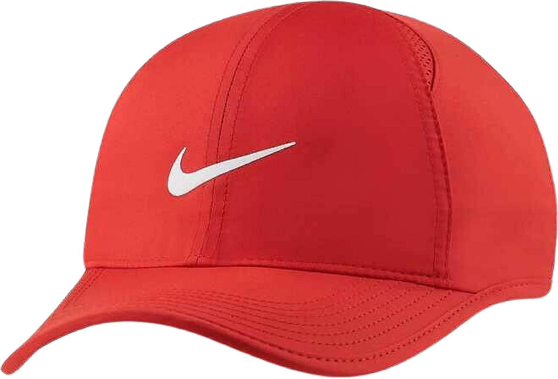 Nike Red Featherlight Performance Adjustable Hat Aerobill Dri-Fit Cap Unisex
