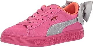 PUMA Unisex-Kids' Suede Bow Sneaker