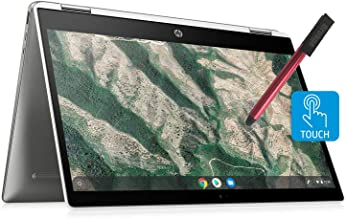 """HP Chromebook X360 14"""" Convertible 2-in-1 Touchscreen Laptop Computer_ Intel Celeron N4000 up to 2.6GHz_ 4GB DDR4 RAM_ 32G..."""