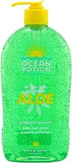 Best ocean potion skin care aloe gel Reviews