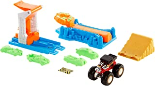 Hot Wheels ® | Monster Trucks Launch and Bash Play Set