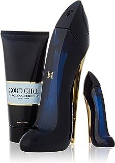 CAROLINA HERRERA GOODGIRL Eau DE Parfum 80ML VAPORIZADOR + LOCION Corporal PERFUMADA 100ML + Miniatura 1UN. Unisex Adulto...