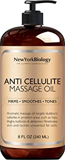 New York Biology Anti Cellulite Treatment Massage Oil – Natural Ingredients Help..