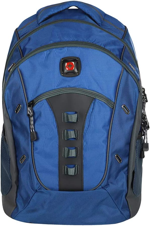 Wenger Swiss Gear Granite Deluxe Laptop Backpack Blue Black 16
