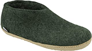 Glerups Unisex Felt Shoes A-09 Forest