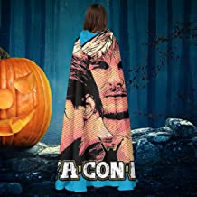 Point Break Hes Not Coming Back Vaya Con Dios Unisex Christmas Halloween Witch Knight Hooded Robe Vampires Cape Cloak Cosplay Costume Black
