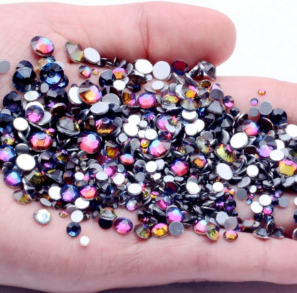 Wholesale RD-42938 Decor Rhinestone Free Shipping Cheap Bargain Gift Non Hotfix Ra Blue Rhinestones Crystal
