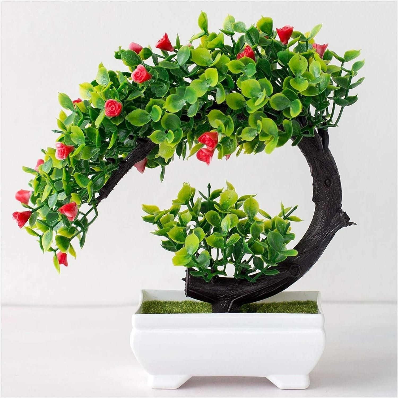 hongbanlemp Artificial Tree Plastic 55% OFF Fake Max 52% OFF Plant Bonsai