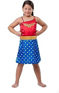 DC Comics Little Girls' Wonder Woman Costume Pajama Nightgown