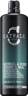 TIGI Catwalk Oatmeal and Honey Nourishing Shampoo for Unisex, 25.36 Ounce