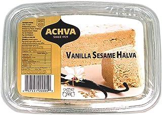 Achva Halva, Vanilla, 16-Ounce Trays (Pack of 12)