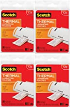Scotch Thermal Laminating Pouches, 3.7 x 5.2-Inches, 20-Pouches (TP5902-20) - 4 Pack