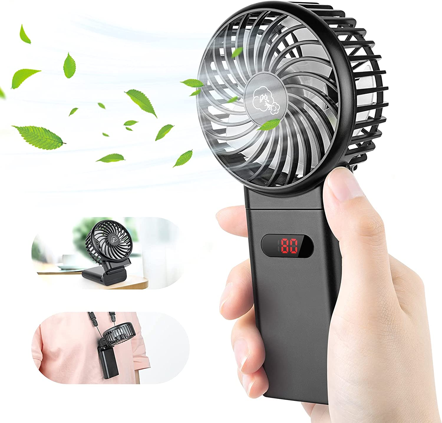 Mini Handheld Limited Special Price Fan - 4000mAh USB 4 Sale Spee Rechargeable Portable