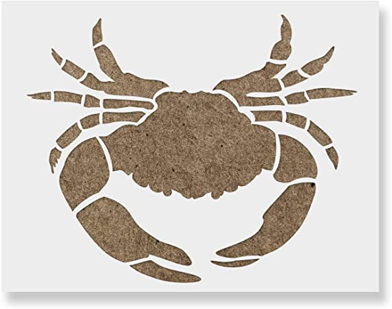 8x10 Crab Stencil Made from 4 Ply Matboard