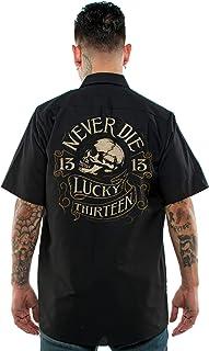 Lucky 13 Never Die Work Shirt