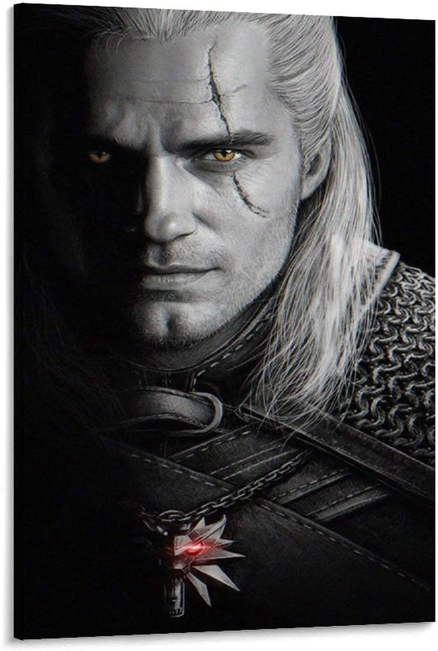 Henry Cavill The Witcher Now on sale Poster Ranking TOP1 Wall Canvas Decorative Painting