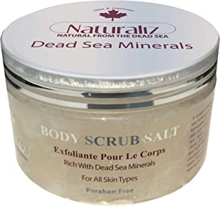 Naturaliz Dead sea Body Scrub Salt 350gm