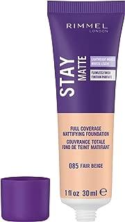 Rimmel Stay Matte Foundation, Fair Beige, 1 Fluid Ounce