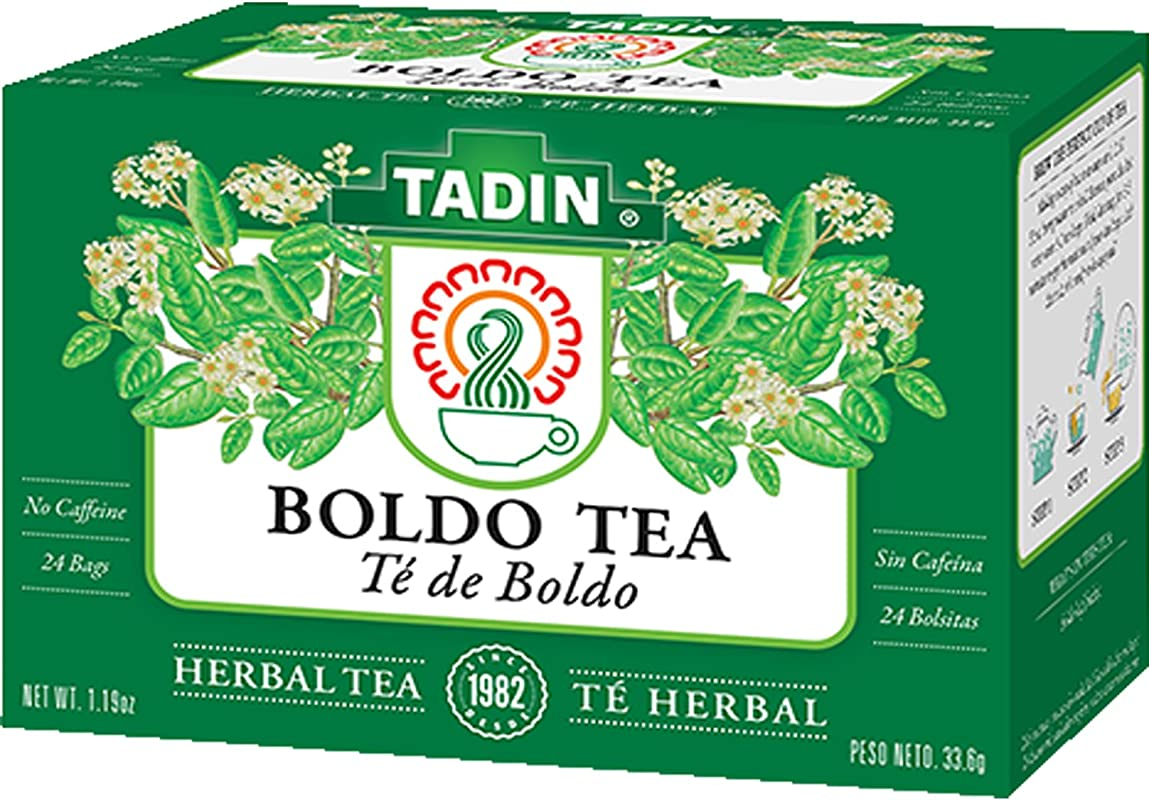 Tadin Boldo Herbal Tea 24 Teabags
