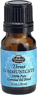 5th Chakra Throat Communicate Pure Essential Oil Blend undiluted .33oz (10ml)
