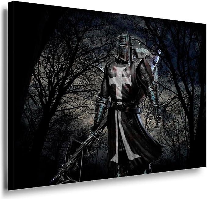 Ritter Mittelalter XXL Wandbild Kunstdruck Foto Poster P0628
