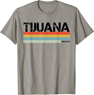 Tijuana Vintage Stripes T Shirt, Tijuana Souvenir & Gift