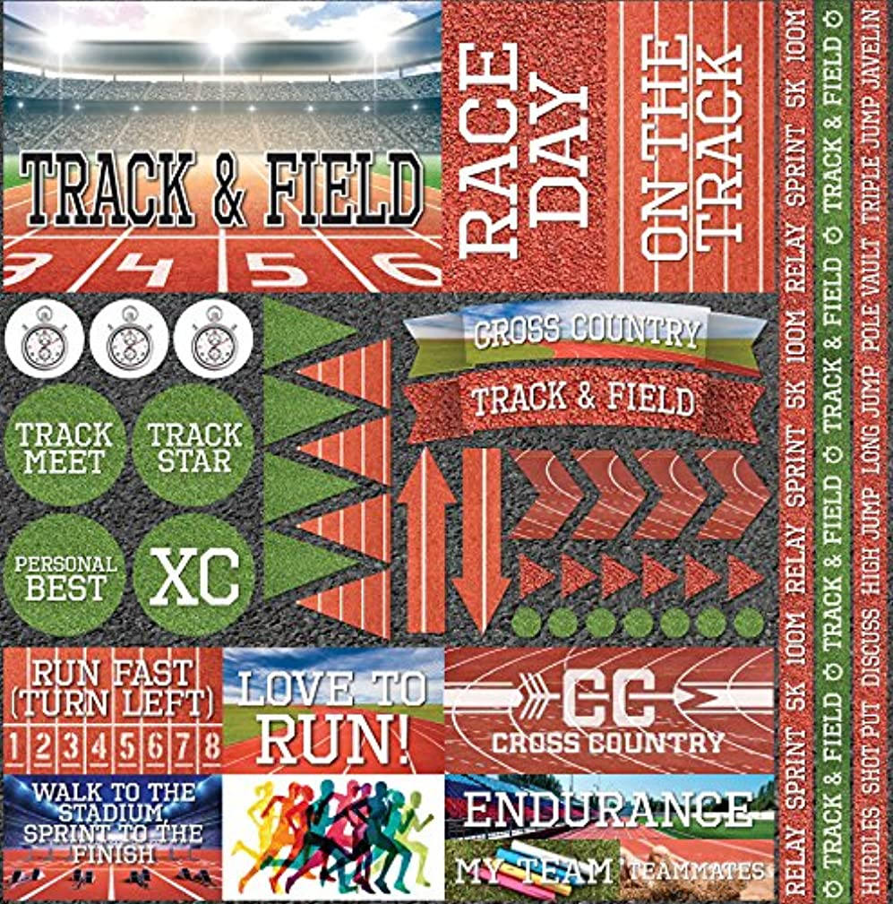 Reminisce Track & Field Elements Stickers 12