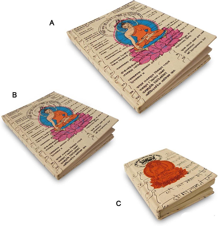 Büttenpapier Innen Printed Abdeckung Heft (Set von 3) B005JWRFDO | Lassen Sie unsere Produkte in die Welt gehen