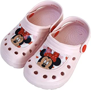 Sabots Minnie Mouse pour fille – Sabots Disney Minnie Mouse pour plage ou piscine