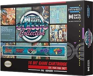 Retro-Bit Europe Data East Classic Collection PAL Version SNES Cartridge for Super NES (Nintendo Super NES)