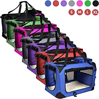 AVC Portable Soft Fabric Pet Carrier Folding Dog Cat Puppy