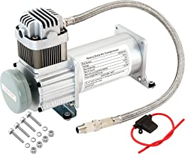 Vixen Horns Heavy Duty Onboard Air Compressor 150 PSI. Universal Replacement for Truck/Car Train Horn/Suspension/Ride/Bag kit/System. Fits All 12v Vehicles Like Semi/Pickup Trucks/Jeep VXC8101