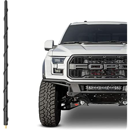 """31/"""" Black Stainless AM FM Antenna Mast FITS 2017-2018 Ford F-350 Super Duty"""