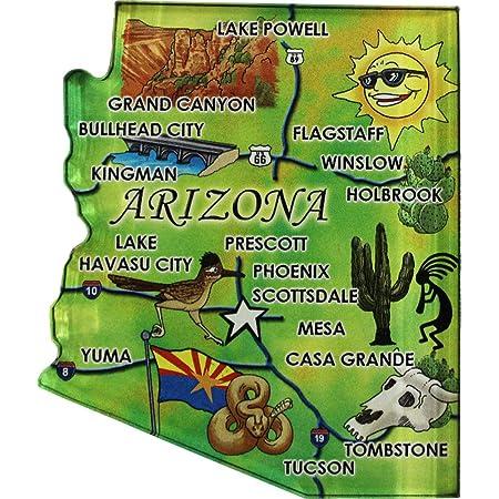 Greetings from Winslow Arizona FRIDGE MAGNET travel souvenir