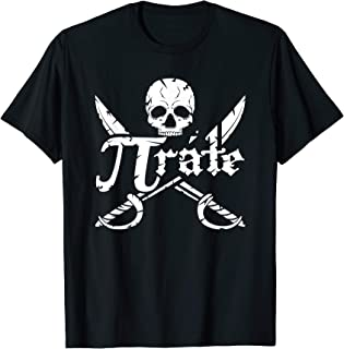 Pi Day Pirate Shirt for Teachers, Kids and Students