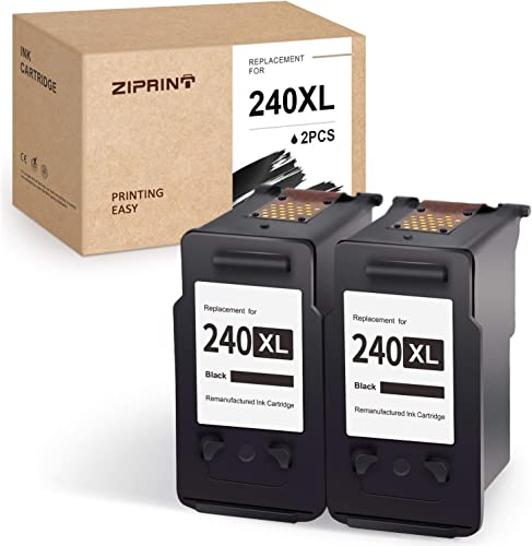 popular ZIPRINT Remanufactured Ink Cartridge Replacement for Canon sale 240XL 240 PG-240XL Black use with Pixma MG3620 TS5120 MG2120 MG3520 MX452 MX512 MX532 MX472 MG3120 MG3122 MG4120 lowest High Yield (2 Black) online